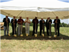 DDA Board, Florestone Staff and Dignitaries prepare to break ground
