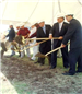 Florestone Staff and Dignitaries Breaking Ground