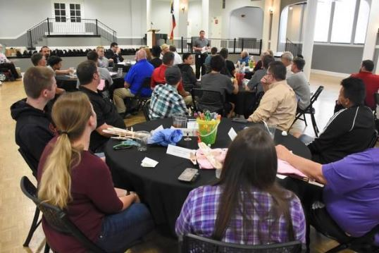 AMP student-mentor luncheon May 8 2018