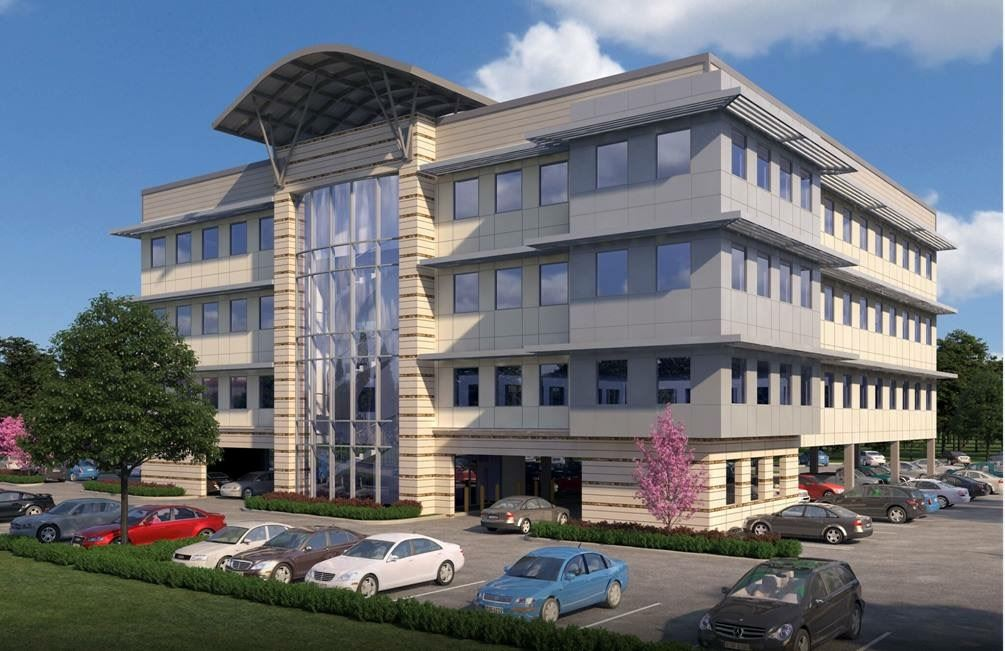 Dr Whittington Medical Office Building - Front Rendering