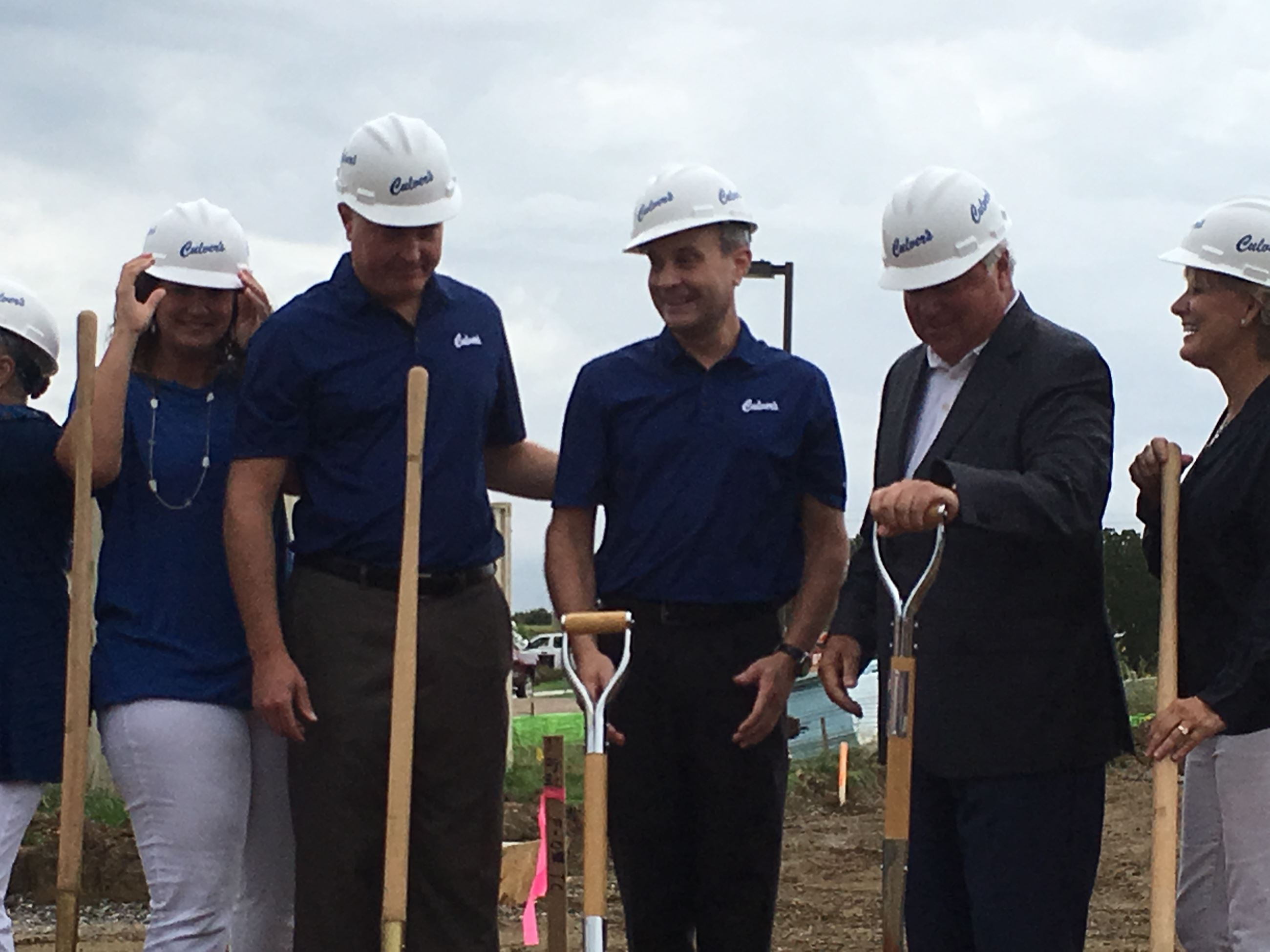 Culvers breaks ground