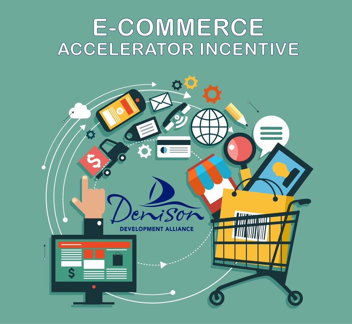 E-Commerce Graphic 1 - DDA Teal